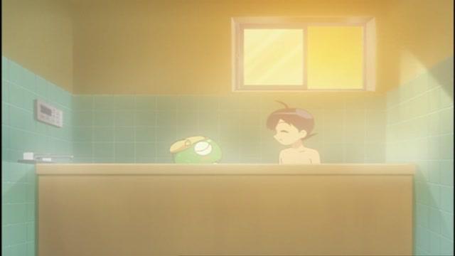 제13화 케로로의 반짝 목욕을 노려라 외