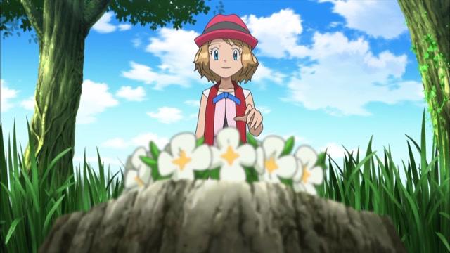 40화 낯을 가리는 이브이!? 꽃밭에서 잡아라!!