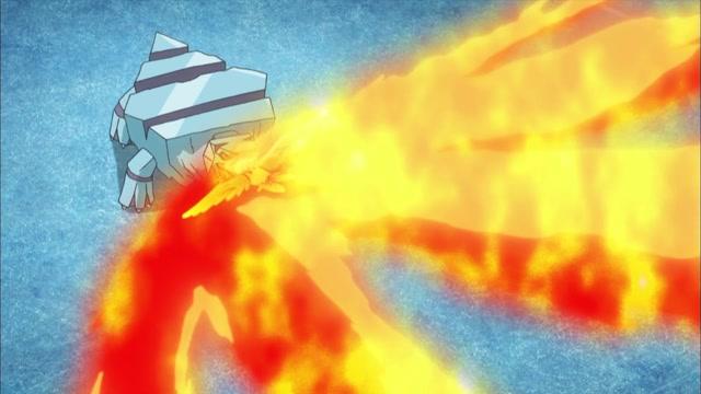 29화 지우개굴닌자 VS 메가눈설왕! 거대 물수리검 발동!!