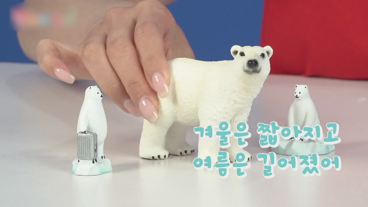 18화 북극의 얼음이 녹고 있어요 북극곰을 구하라!