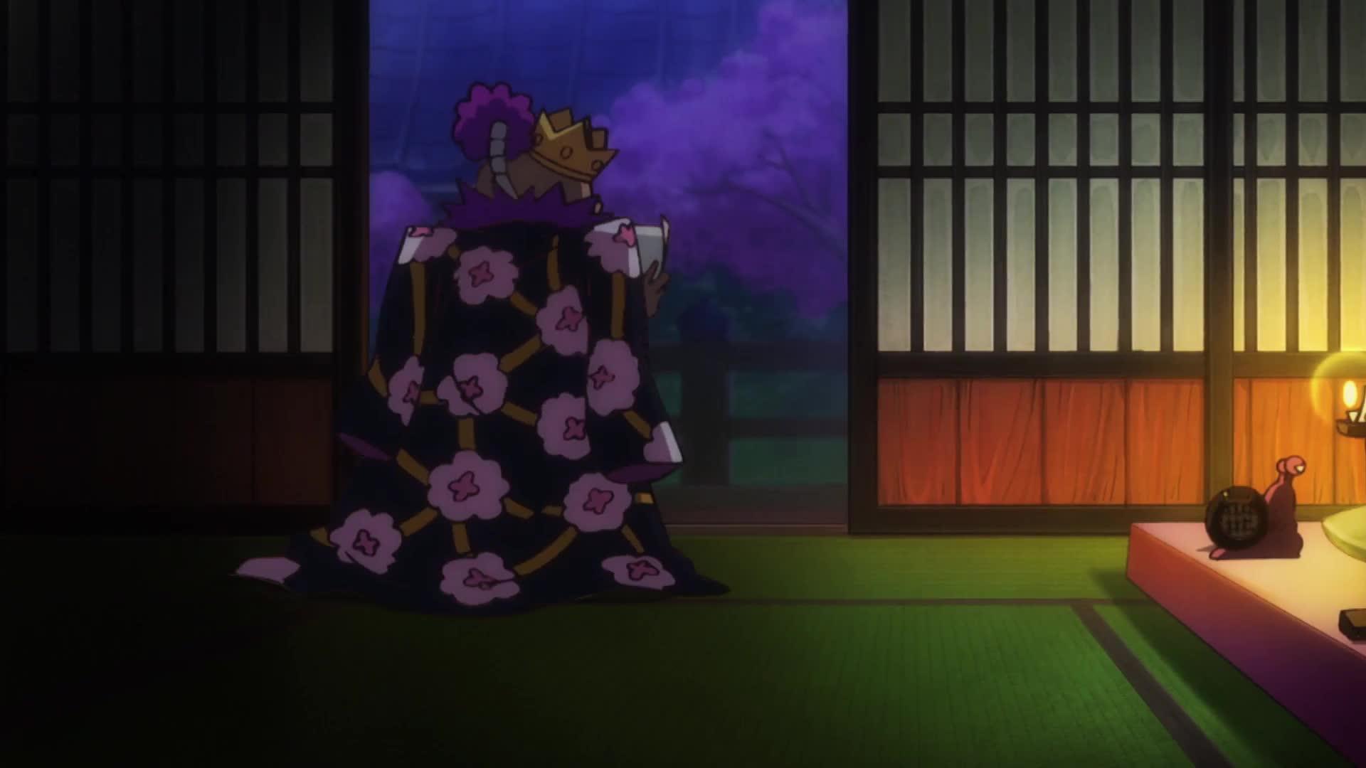 1화 와노쿠니 제일의 무사! 코즈키 오뎅 등장