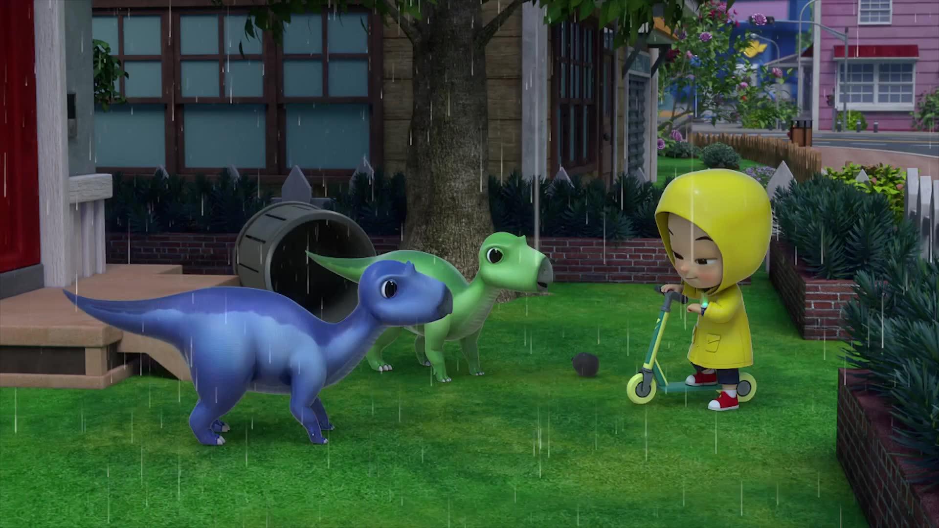 2화 아기 공룡 돌보기는 힘들어