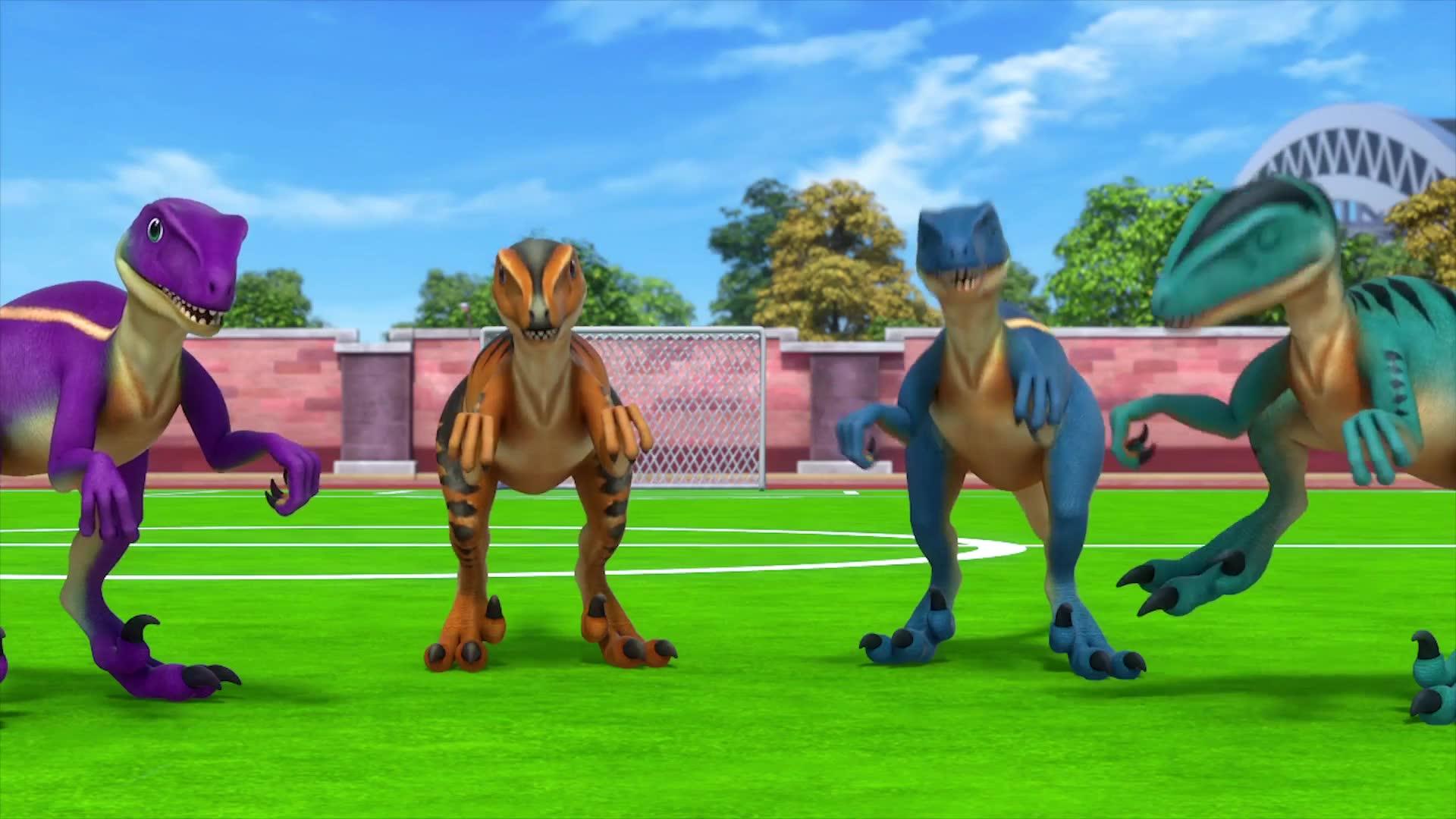 14화 공룡들과 축구해요!