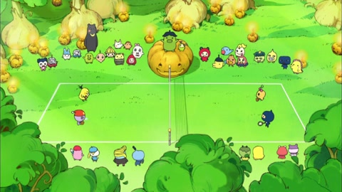 3-1화 호박민턴 대회를 시작합니다, 치! / 3-2화 가을을 부르는 새! 아키츠게치!