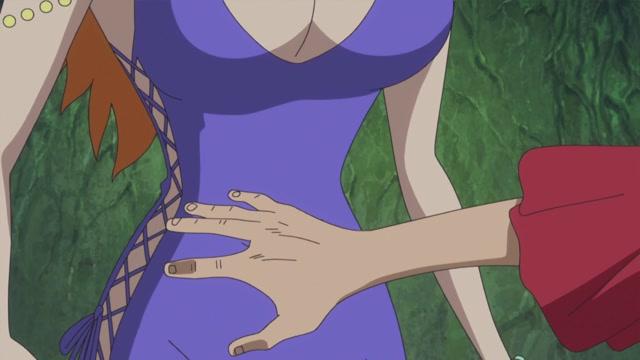 제 21화 사나이의 맹세  루피와 코즈키 모모노스케