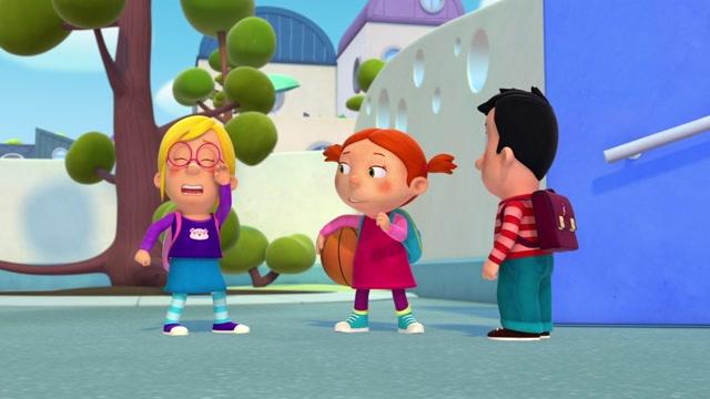 제 15화 맥스는 행운아레나의 여드름 감추기 대작전티티는 바빠!선생님은 농구 챔피언